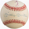 Baseball Collectibles:Balls, Willie Mays, Mickey Mantle and Duke Snider Multi-SignedBaseball....