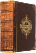 Books:Americana & American History, [Colorado]. History of the Arkansas Valley, Colorado.Chicago: O.L. Baskin & Co., 1881....