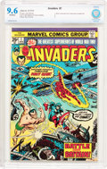 Bronze Age (1970-1979):Superhero, The Invaders #1 (Marvel, 1975) CBCS NM+ 9.6 Off-white pages....