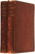 Books:Travels & Voyages, William A. Bell. New Tracks in North America. A Journal of Travel and Adventure... In Two Volumes. London: Chapm... (Total: 2 Items)