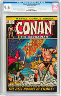 Bronze Age (1970-1979):Superhero, Conan the Barbarian #15 (Marvel, 1972) CGC NM+ 9.6 Off-white pages....
