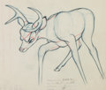 Animation Art:Color Model, Bambi Color Model Setup Drawing Group of 5 (Walt Disney,1941).... (Total: 5 Original Art)