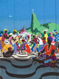 Animation Art:Concept Art, The Three Caballeros Rio de Janeiro Concept Painting (WaltDisney, 1945).... (Total: 2 Items)