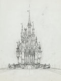 Animation Art:Concept Art, Elmer Plummer - Disneyland Concept Art Group of 8 (Walt Disney,1967).... (Total: 8 Original Art)