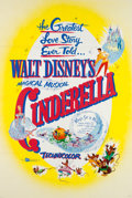 Animation Art:Poster, Cinderella Theatrical Poster and Lobby Card Set (WaltDisney, 1957).... (Total: 11 Items)