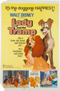 Animation Art:Poster, Lady and the Tramp Theatrical Poster and Lobby Card Set(Walt Disney, 1972).... (Total: 11 Items)