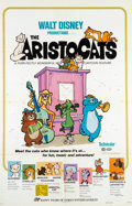 Animation Art:Poster, The Aristocats Theatrical Poster (Walt Disney, 1973)....