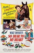 Animation Art:Poster, So Dear To My Heart Theatrical Poster (Walt Disney,1964)....