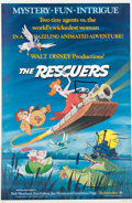 Animation Art:Poster, The Rescuers Theatrical Movie Poster (Walt Disney, 1977)....