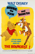 Animation Art:Poster, Winnie the Pooh and Tigger Too Theatrical Poster (WaltDisney, 1974)....