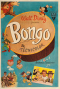 "Animation Art:Poster, Fun and Fancy Free ""Bongo"" Argentina Theatrical Poster (WaltDisney, 1947)...."