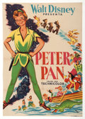 Animation Art:Poster, Peter Pan Spanish Theatrical One-Sheet (Walt Disney,1953)....