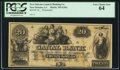 New Orleans, LA - New Orleans Canal & Banking Co. $20 18__ G36a Remainder