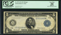 Fr. 870 $5 1914 Federal Reserve Note PCGS Apparent Very Fine 20