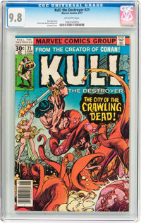 Kull the Destroyer #21 (Marvel, 1977) CGC NM/MT 9.8 Off-white pages