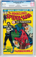 Bronze Age (1970-1979):Superhero, The Amazing Spider-Man #129 (Marvel, 1974) CGC VF+ 8.5 Whitepages....