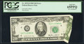 Error Notes:Foldovers, Fr. 2075-D $20 1985 Federal Reserve Note. PCGS Gem New 65PPQ.. ...