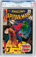 Silver Age (1956-1969):Superhero, The Amazing Spider-Man #54 (Marvel, 1967) CGC NM- 9.2 Off-white to white pages....