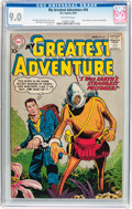 Silver Age (1956-1969):Science Fiction, My Greatest Adventure #34 (DC, 1959) CGC VF/NM 9.0 Off-whitepages....