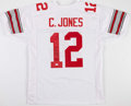 Football Collectibles:Uniforms, Cardale Jones Signed Ohio State Buckeyes Jersey....