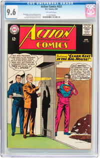 Action Comics #323 (DC, 1965) CGC NM+ 9.6 Off-white pages