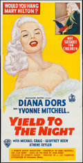 "Movie Posters:Bad Girl, Blonde Sinner (Warner Brothers, 1956). Australian Three Sheet (40"" X 79""). Bad Girl. International Title: Yield to the Nig..."