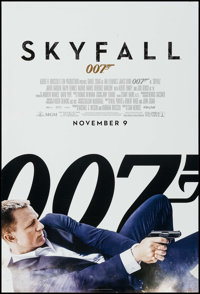 "Skyfall (MGM, 2012). One Sheet (27"" X 40"") DS Advance. James Bond"