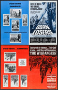 """Movie Posters:Exploitation, Born Losers & Others Lot (American International, 1967).Pressbooks (23) (Multiple Pages, 8.5""""-11.5"""" X 14""""-17"""").Exploitatio... (Total: 23 Items)"""