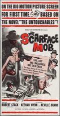 """Movie Posters:Crime, The Scarface Mob (Desilu, 1962). Three Sheet (41"""" X 78.5""""). Crime.. ..."""