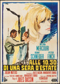 "Movie Posters:Drama, 10:30 P.M. Summer (United Artists, 1966). Italian 2 - Fogli (39.25"" X 55""). Drama.. ..."
