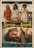 "Movie Posters:Foreign, The Sex of Angels (Titanus, 1968). Italian 4 - Fogli (54.25"" X 77"") & Photobusta Set of 6 (18"" X 26.5""). Foreign.. ... (Total: 7 Items)"