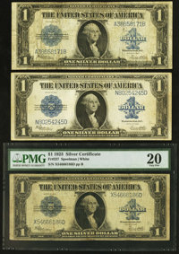 Fr. 237 $1 1923 Silver Certificates Three Examples