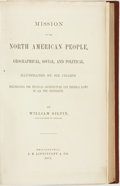 Books:Americana & American History, William Gilpin. Mission of the North American People,Geographical, Social, and Political. Illustrated by SixChar...