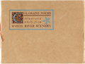 Books:Photography, H[enry]. J[ohnson]. Hay. Colorado Poems. Illustrated wholly from White River Scenery. Denver, Colorado: Press of...