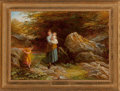 Fine Art - Painting, European:Antique  (Pre 1900), Attributed to Edward Holmes (British, 1811-1903). TreadingCarefully. Oil on canvas. 21-1/2 x 30-1/2 inches (54.6 x77.5...