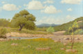 Fine Art - Painting, American:Contemporary   (1950 to present)  , Hugo Alberto Herbeck (American, 1923-2009). Summer Creek.Oil on canvas. 27-3/4 x 42 inches (70.5 x 106.7 cm). Signed lo...