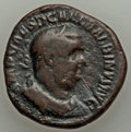 Ancients:Roman Imperial, Ancients: Balbinus (AD 238). Æ sestertius (18.55 gm)....