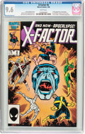 Modern Age (1980-Present):Superhero, X-Factor #6 (Marvel, 1986) CGC NM+ 9.6 White pages....