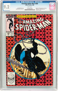 Modern Age (1980-Present):Superhero, The Amazing Spider-Man #300 (Marvel, 1988) CGC NM- 9.2 Whitepages....