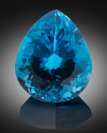 Gems:Faceted, Gemstone: Blue Topaz - 185 Ct.. Nigeria. ...