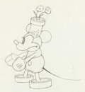 Animation Art:Production Drawing, The Wayward Canary Mickey Mouse Production Drawing (WaltDisney, 1932)....