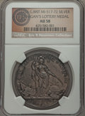 1736 Jernegan's Cistern Medal, Betts-169, AU58 NGC