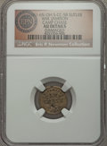 Civil War Tokens, (1861-65) William Jamison, Camp Chase, Ohio, OH CC-5B, R.9 --Damaged -- NGC Details. AU. ...