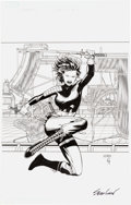 Original Comic Art:Covers, Sean Chen Blade of Kumori #1 Variant Cover Original Art(Devil's Due, 2004)....