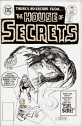 Original Comic Art:Covers, Jack Sparling and Vinnie Colletta House of Secrets #143Cover Original Art (DC, 1977)....