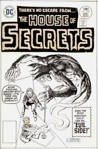 Jack Sparling and Vinnie Colletta House of Secrets #143 Cover Original Art (DC, 1977)