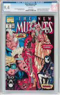 Modern Age (1980-Present):Superhero, The New Mutants #98 (Marvel, 1991) CGC NM 9.4 White pages....