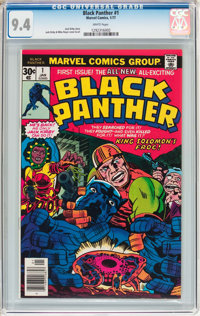 Black Panther #1 (Marvel, 1977) CGC NM 9.4 White pages
