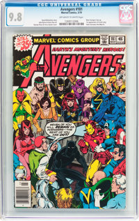 The Avengers #181 (Marvel, 1979) CGC NM/MT 9.8 Off-white to white pages