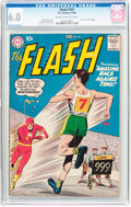 Silver Age (1956-1969):Superhero, The Flash #107 (DC, 1959) CGC FN 6.0 Cream to off-white pages....